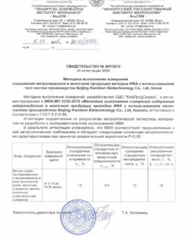 МВИ МН 5335-2015